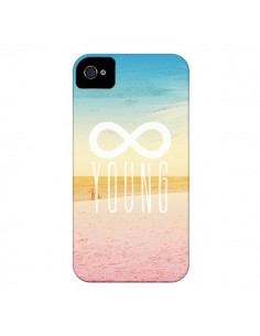 Coque Forever Young Plage pour iPhone 4 et 4S - Mary Nesrala