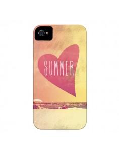 Coque Summer Love Eté pour iPhone 4 et 4S - Mary Nesrala