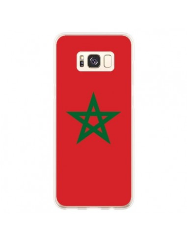 Coque Samsung S8 Plus Drapeau Maroc Marocain - Laetitia