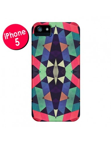 Coque Azteque Cristals pour iPhone 5 et 5S - Maximilian San