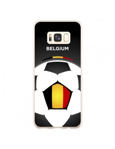 Coque Samsung S8 Plus Belgique Ballon Football - Madotta
