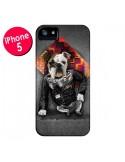 Coque Chien Bad Dog pour iPhone 5 et 5S - Maximilian San