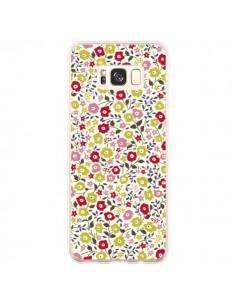 Coque Samsung S8 Plus Liberty Fleurs - Nico