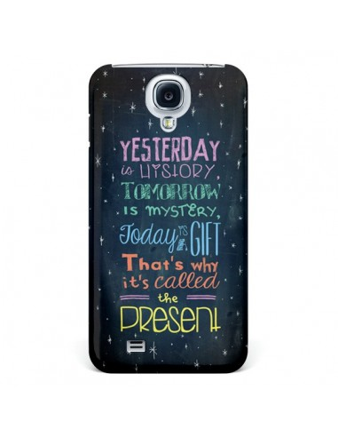 Coque Today is a gift Cadeau pour Galaxy S4 - Maximilian San