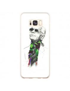 Coque Samsung S8 Plus Karl Lagerfeld Fashion Mode Designer - Percy