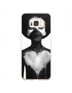 Coque Samsung S8 Plus Fille Coeur Hold On - Ruben Ireland