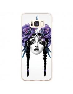 Coque Samsung S8 Plus Fille Fleurs Warrior - Ruben Ireland