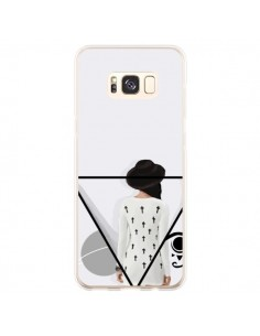 Coque Samsung S8 Plus Confusion Femme Oeil Triangle - Sara Eshak