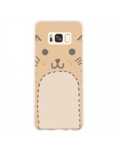 Coque Samsung S8 Plus Big Cat chat - Santiago Taberna