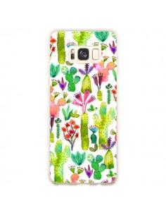 Coque Samsung S8 Plus Cacti Garden - Ninola Design