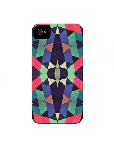 Coque Azteque Cristals pour iPhone 4 et 4S - Maximilian San