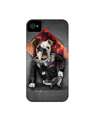 Coque Chien Bad Dog pour iPhone 4 et 4S - Maximilian San