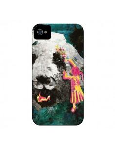Coque Panda Pandamonium pour iPhone 4 et 4S - Maximilian San