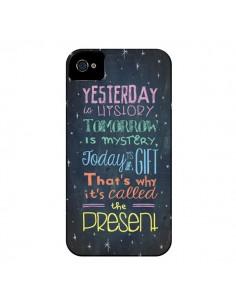 Coque Today is a gift Cadeau pour iPhone 4 et 4S - Maximilian San