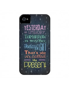 Coque Today is a gift Cadeau pour iPhone 4 et 4S - Maximilian San