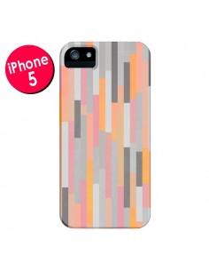 Coque Bandes Couleurs pour iPhone 5 et 5S - Leandro Pita