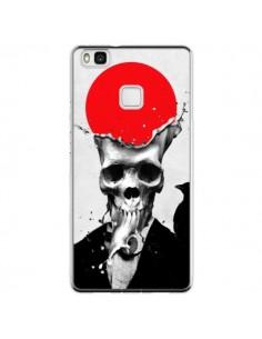 Coque Huawei P9 Lite Splash Skull Tête de Mort - Ali Gulec
