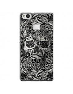 Coque Huawei P9 Lite Skull Lace Tête de Mort - Ali Gulec