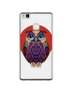Coque Huawei P9 Lite Chouette Hibou Owl Transparente - Ali Gulec