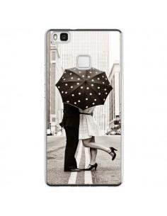 Coque Huawei P9 Lite Secret under Umbrella Amour Couple Love - Asano Yamazaki