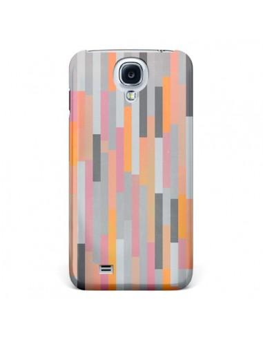 Coque Bandes Couleurs pour Galaxy S4 - Leandro Pita
