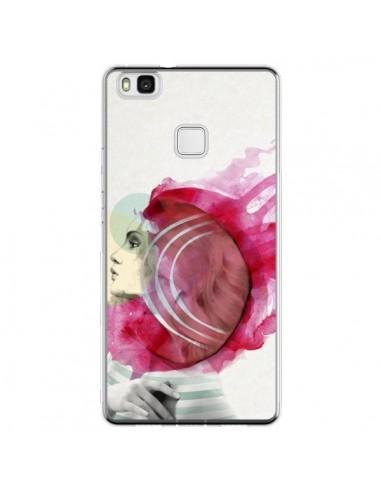 Coque Huawei P9 Lite Bright Pink Femme - Jenny Liz Rome