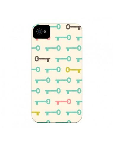 Coque Clefs Keys pour iPhone 4 et 4S - Leandro Pita