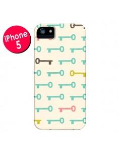 Coque Clefs Keys pour iPhone 5 et 5S - Leandro Pita