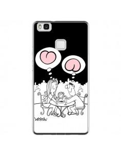 Coque Huawei P9 Lite L'amour selon homme et femme - Kristian
