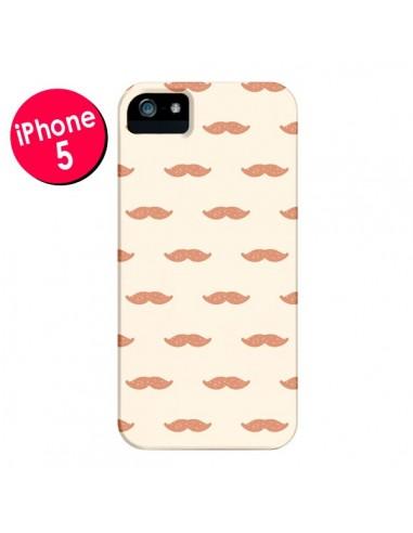 Coque Moustaches pour iPhone 5 et 5S - Leandro Pita