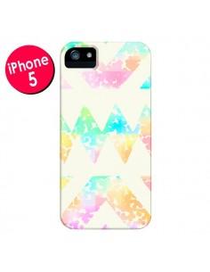 Coque Azteque Couleur pour iPhone 5 et 5S - Lisa Argyropoulos