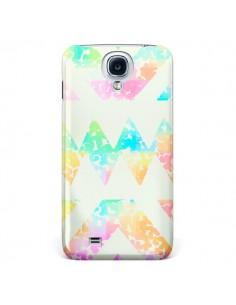 Coque Azteque Couleur pour Galaxy S4 - Lisa Argyropoulos
