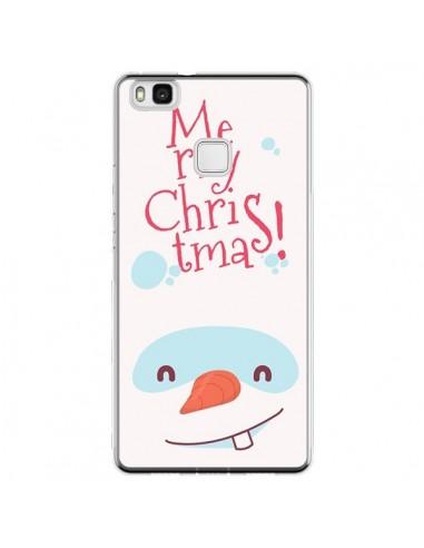 Coque Huawei P9 Lite Bonhomme de Neige Merry Christmas Noël - Nico