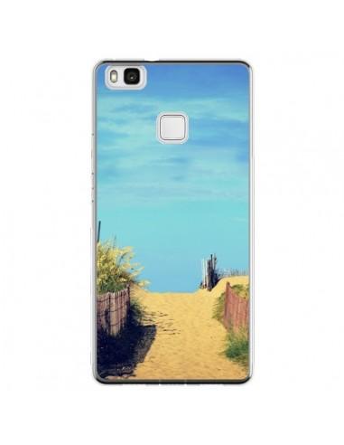 Coque Huawei P9 Lite Plage Beach Sand...