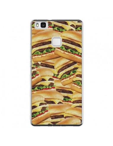 Coque Huawei P9 Lite Burger Hamburger...