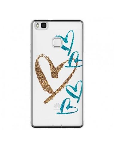 Coque Huawei P9 Lite Coeurs Heart...