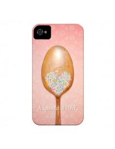 Coque Cuillère Love pour iPhone 4 et 4S - Lisa Argyropoulos