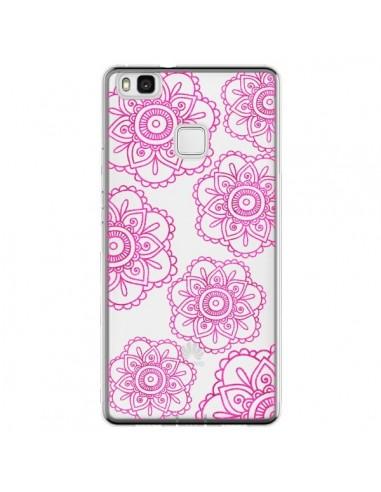Coque Huawei P9 Lite Pink Doodle...