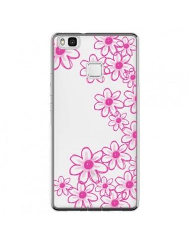 Coque Huawei P9 Lite Pink Flowers...
