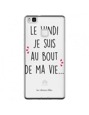 Coque Huawei P9 Lite Le lundi, je...