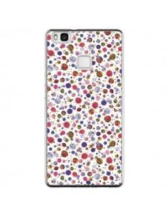 Coque Huawei P9 Lite Peonies Pink - Ninola Design