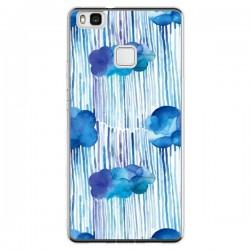 Coque Huawei P9 Lite Rain Stitches Neon - Ninola Design