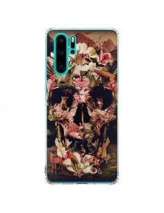Coque Huawei P30 Pro Jungle Skull Tête de Mort - Ali Gulec