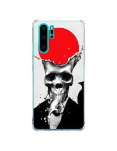 Coque Huawei P30 Pro Splash Skull Tête de Mort - Ali Gulec
