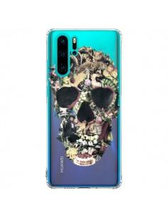 Coque Huawei P30 Pro Skull Vintage Tête de Mort Transparente - Ali Gulec