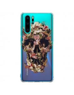 Coque Huawei P30 Pro Jungle Skull Tête de Mort Transparente - Ali Gulec