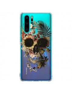 Coque Huawei P30 Pro Garden Skull Tête de Mort Transparente - Ali Gulec