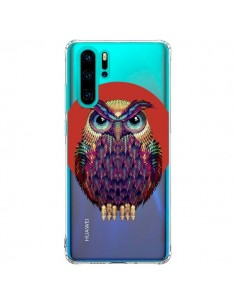 Coque Huawei P30 Pro Chouette Hibou Owl Transparente - Ali Gulec