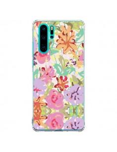 Coque Huawei P30 Pro Fleurs Botanical - AlekSia