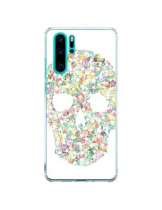 Coque Huawei P30 Pro Flower Skull Tête de Mort - AlekSia